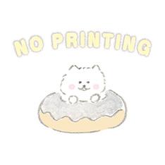 NO PRINTING